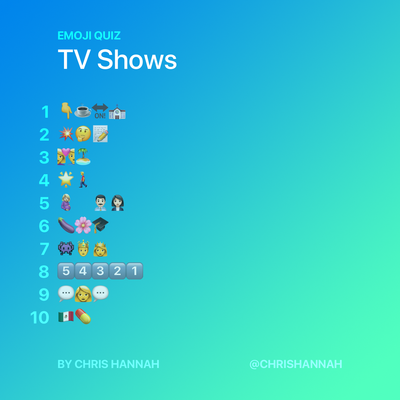 TV Shows Quiz