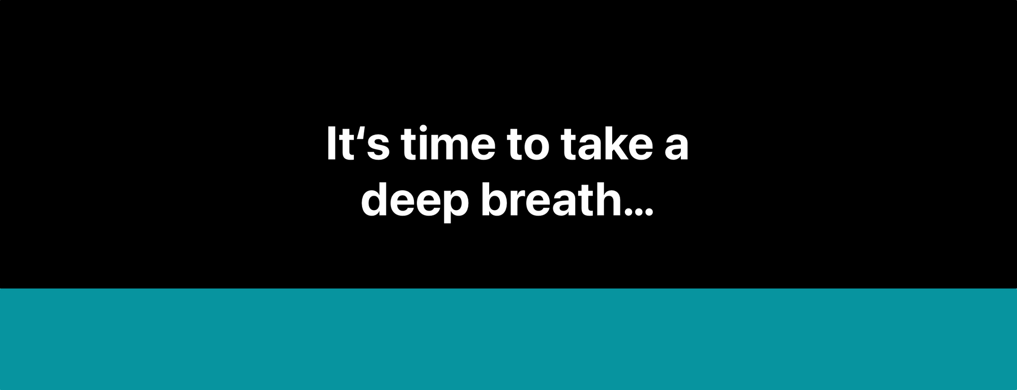 Instead of Launching Social Media Apps, Why Not Take a Deep Breath First?